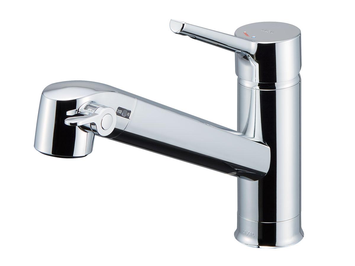 [ワンホールタイプ] 浄水器内蔵型シングルレバー混合水栓(エコハンドル)